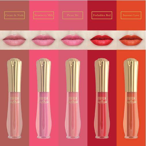 Mille Rose Matte Liquid Lip ล็อคสีติดทน