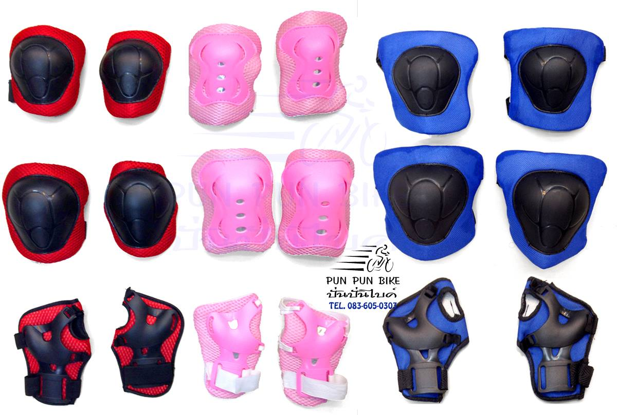 ACC021 : ชุดสนับป้องกันแขนขาสำหรับเด็กโต