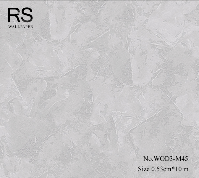 วอลเปเปอร์ลายปูนฉาบสีเทา WOD3-M45
