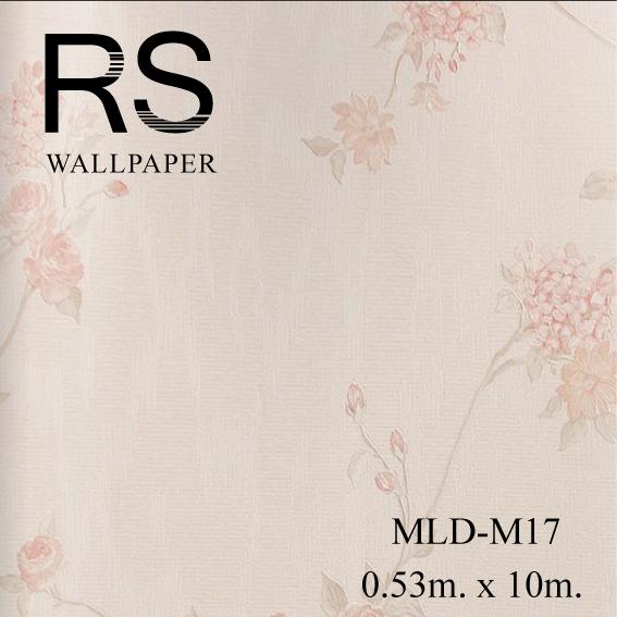 วอลเปเปอร์ลายดอกไม้ MLD-M17