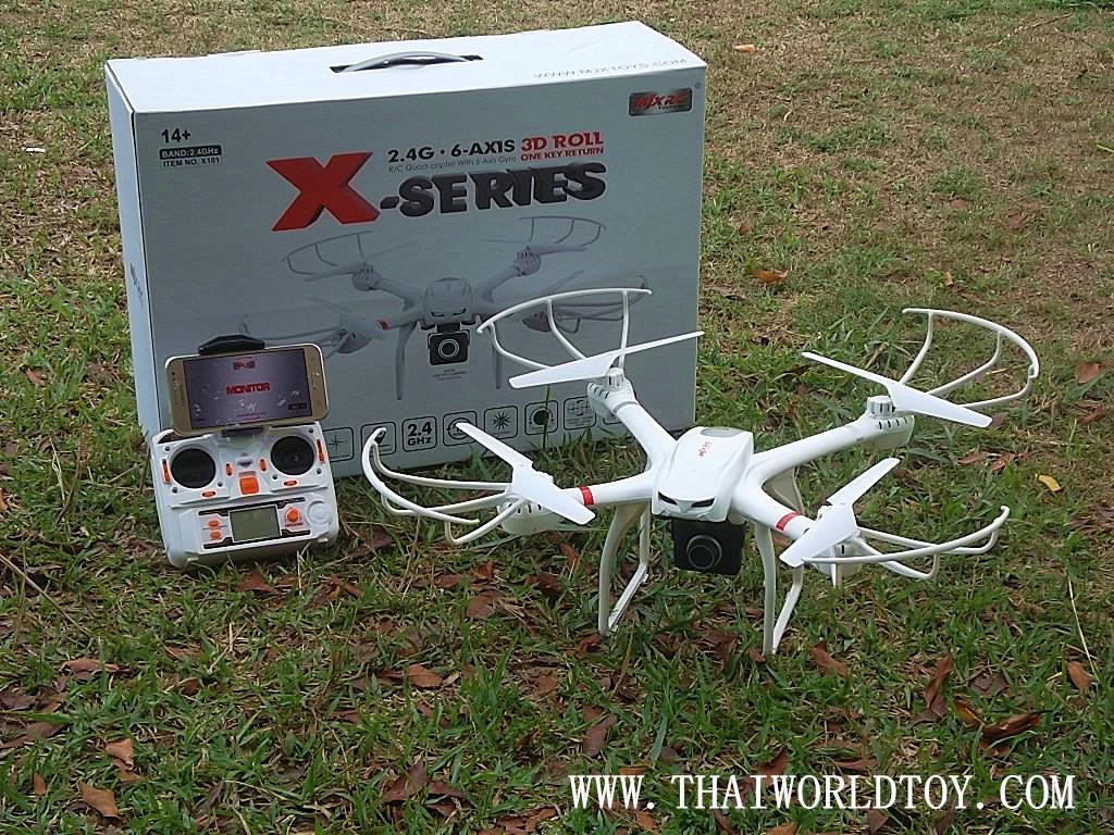MJX-X101 fpv HD camera wifi drone บังคับถ่ายภาพด้วยมือถือ