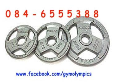 ขายแผ่นน้ำหนักโอลิมปิค รูขนาด 2 นิ้ว