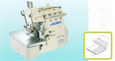 จักรโพ้งอุตสาหกรรม JUKI รุ่น MO-6700