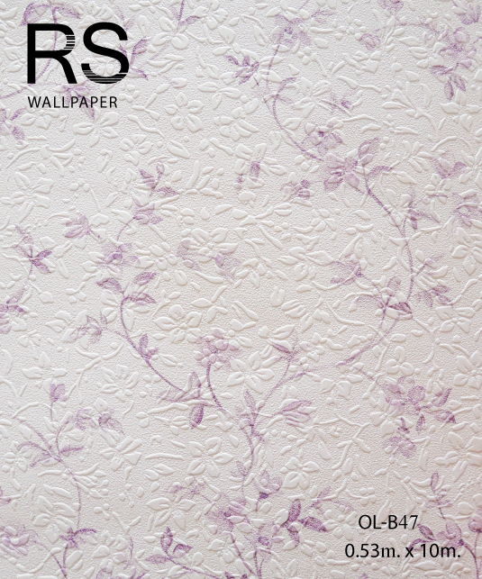 วอลเปเปอร์ลายดอกไม้ OL-B47