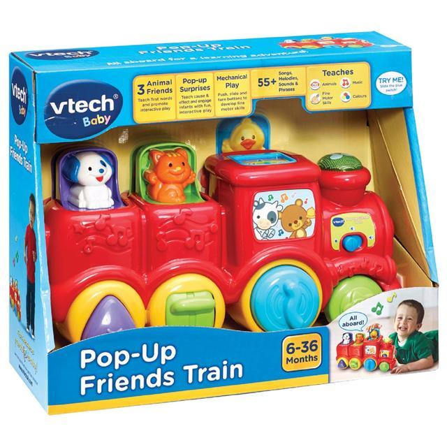 พร้อมส่ง รถไฟดนตรี Pop-up friends train Vtech ของแท้ส่งฟรี ลดกว่า 45%
