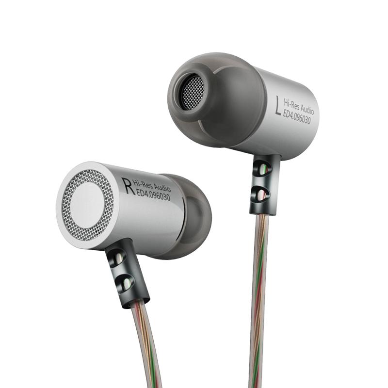 ขาย KZ ED4 หูฟังมีไมค์เสียงใส เบสหนัก สายถัก LC-OFC 56 Core