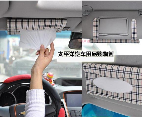 กระเป๋าใส่กระดาษทิชชูในรถ