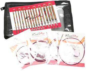 Deluxe Set by Knitpro(Symfonie Wood Needles) ชุดไม้นิตวงกลม