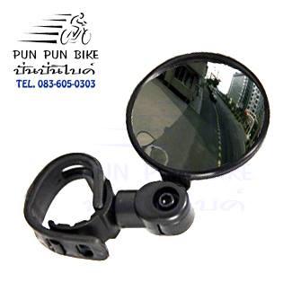 ACC009 : กระจกกลมนูนรัดแฮนด์