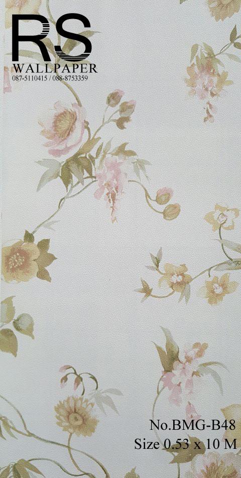 วอลเปเปอร์ลายดอกไม้ BMG-B48