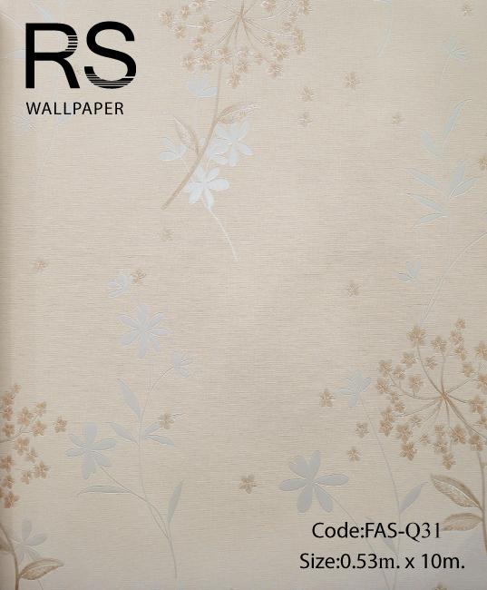 วอลเปเปอร์ลายดอกไม้ FAS-Q31