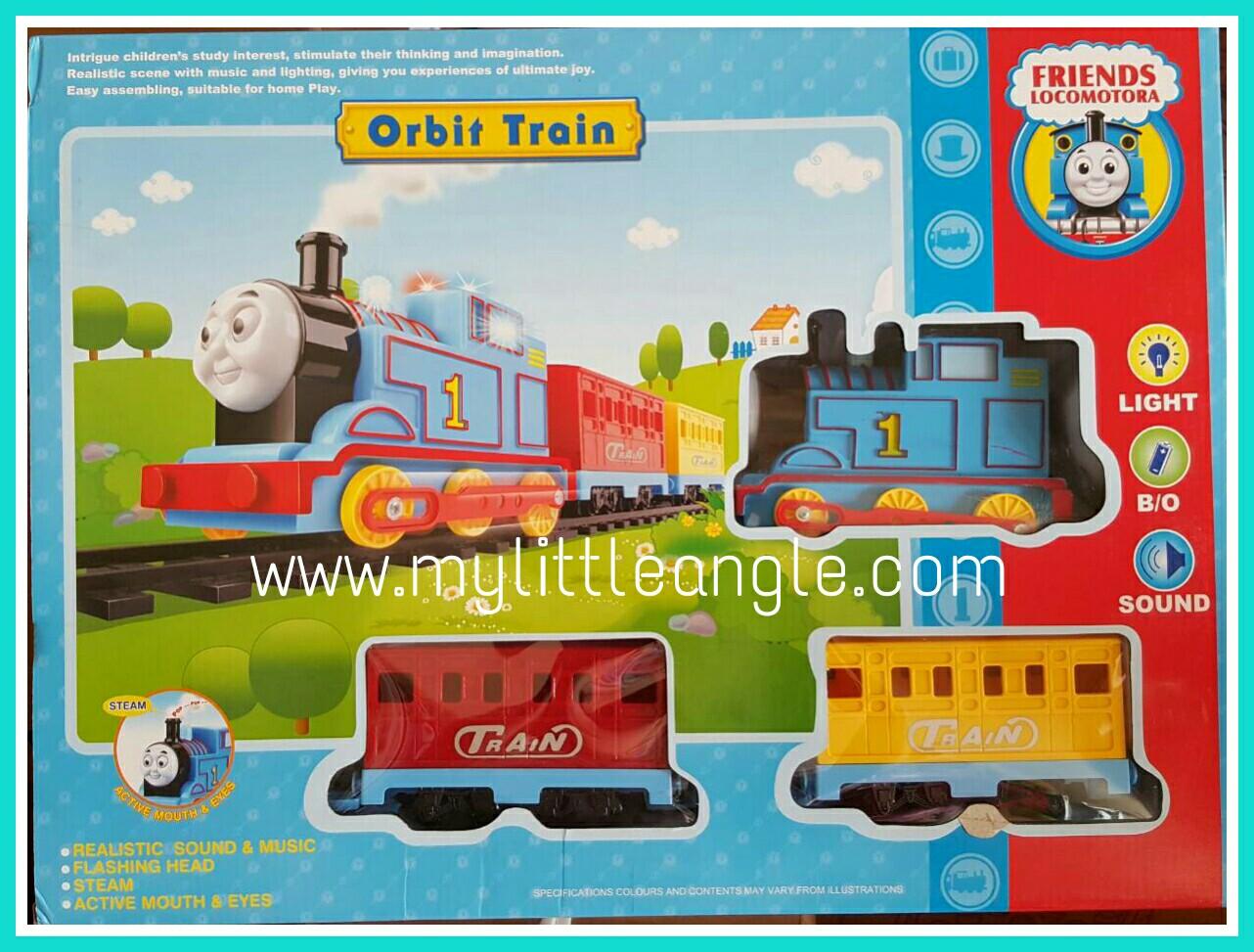 รถไฟ Thomas orbit train ส่งฟรี