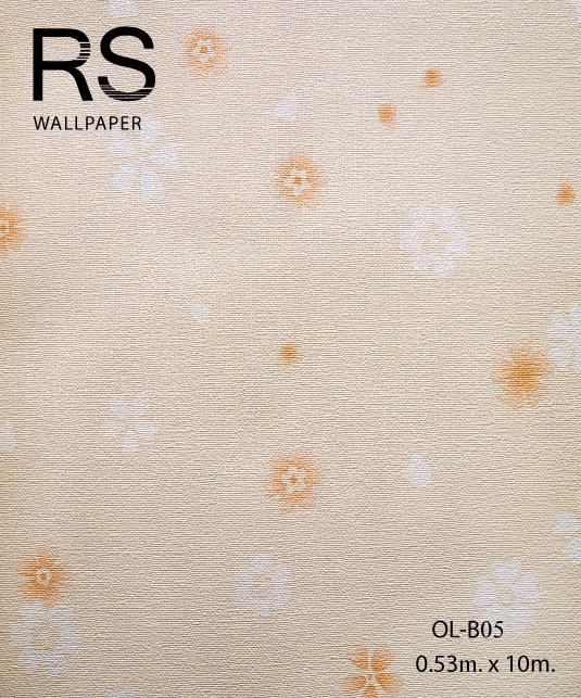วอลเปเปอร์ลายดอกไม้ OL-B05