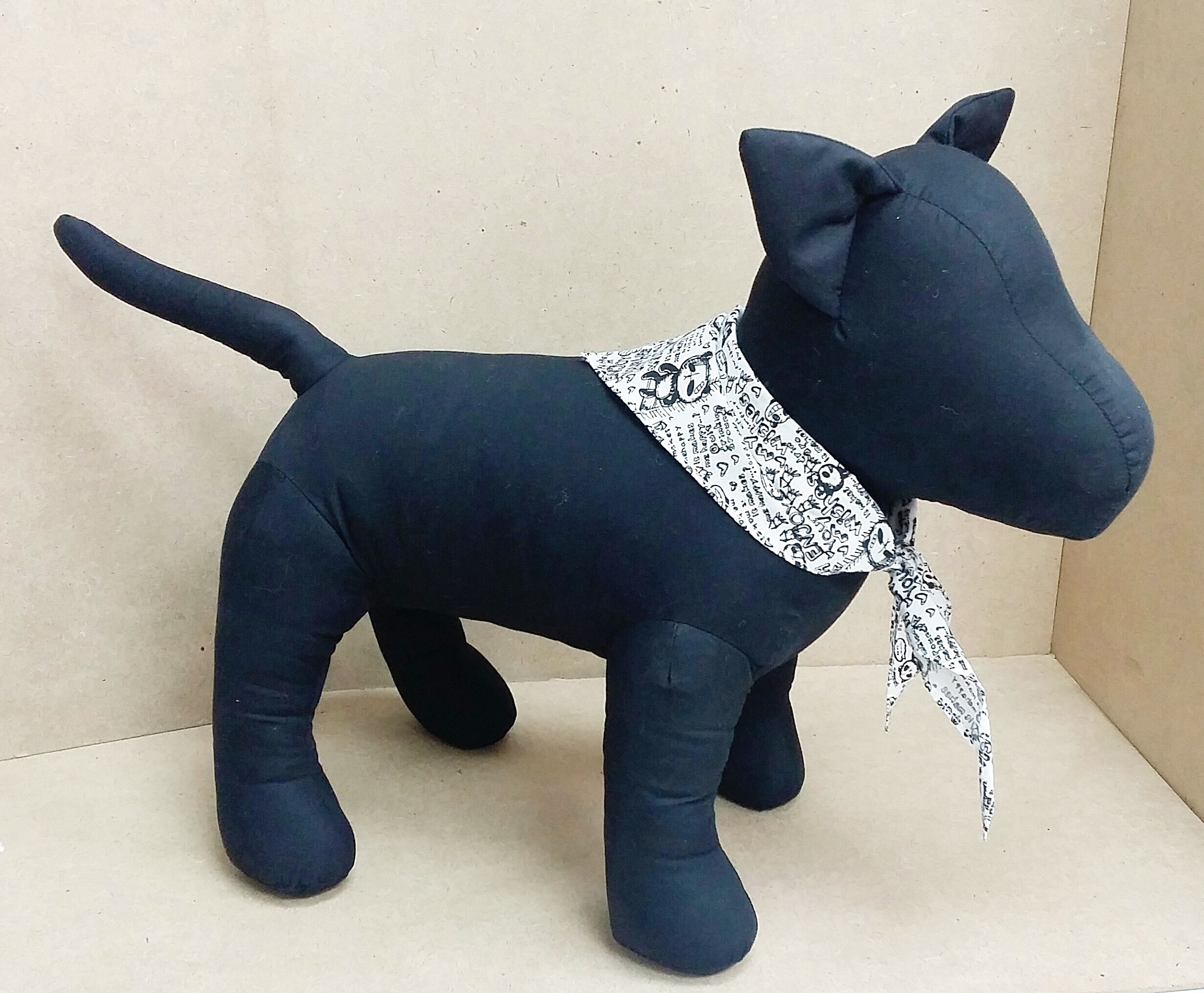 Puppy Lover Softy Toy - Black