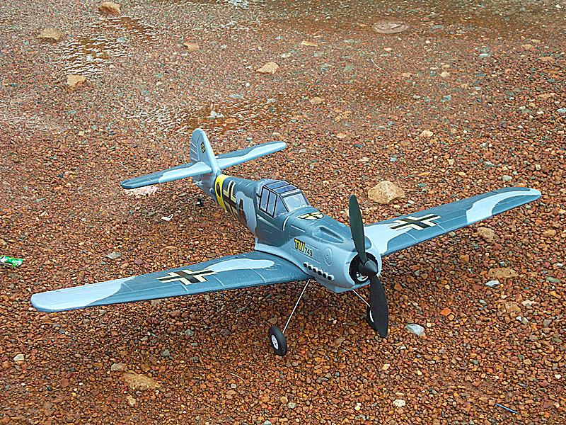 เครื่องบินบังคับ ME 109