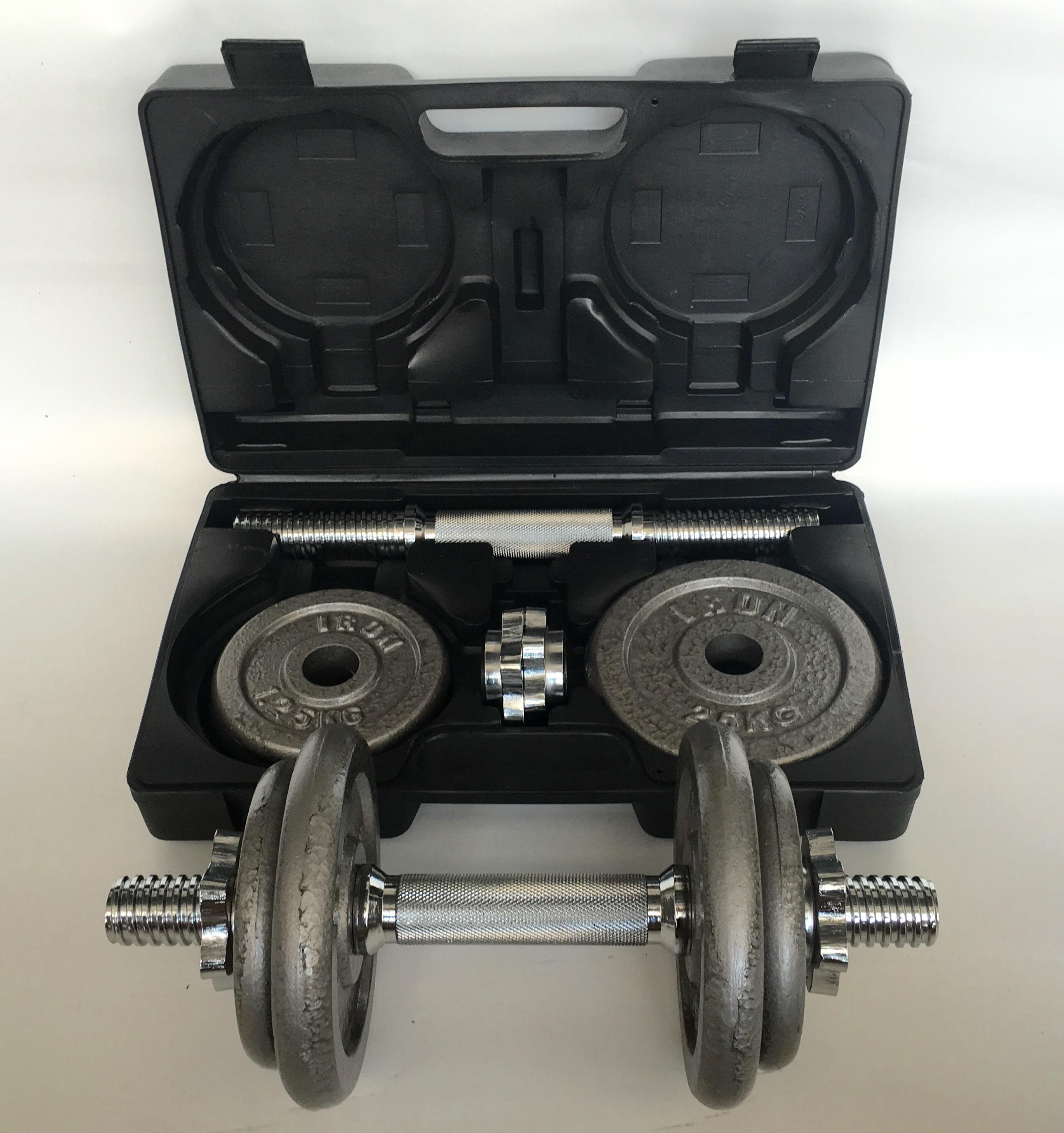 ขายเซทดัมเบล 20 กิโล พร้อมกล่องเก็บ - รุ่น IRON 103
