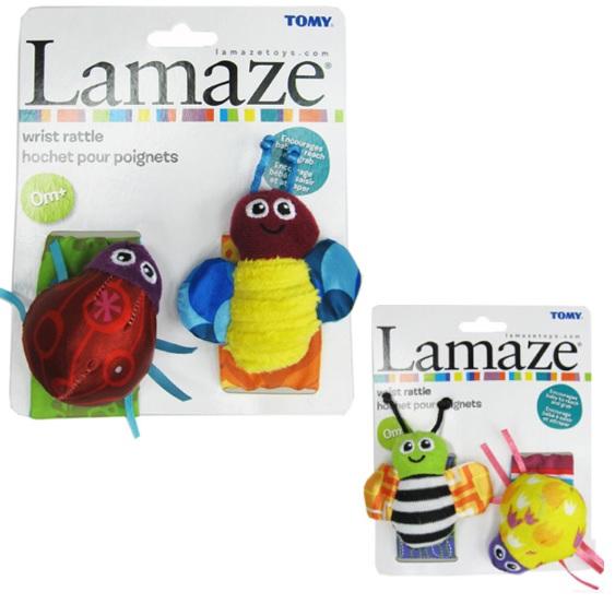 ปลอกแขน สายรัดข้อมือ Lamaze ส่งฟรี