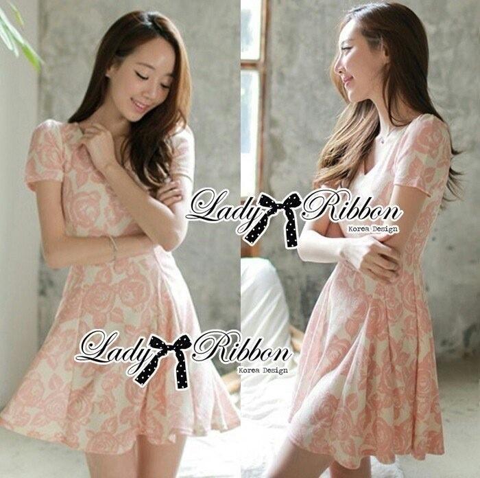 Lady Ribbon's Made Lady Rosy Beautiful Sweet Elegant Dress