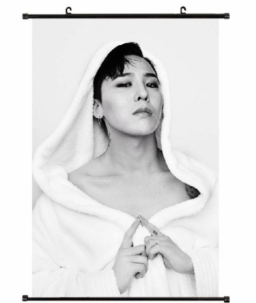 โปสเตอร์ผ้า แขวนผนัง 60x40 cm. - GD BIGBANG