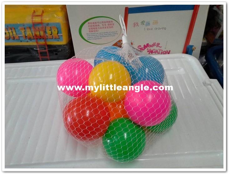 ลูกบอลหลากสี 12 ลูกส่งฟรี
