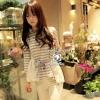 So Cute Stripy T- Shirt by Seoul Secret
