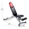 ขายม้าดัมเบล ขายเก้าอี้ดัมเบล Bowflex bench 5.1