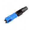 SC Fast Connector SC/UPC(สีฟ้า) สำหรับเข้าหัวสาย Fiber Optic ด้วยตนเอง