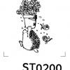 Cartoon Stamp - รูปการ์ตูนน่ารัก 018