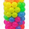 ลูกบอลหลากสีแบบใส 100 ลูก ส่งฟรี