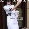 Lady Ribbon's Made Lady Alana Minimal Chic White Cotton Shirt Dress