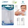 Attoon แปรงนวดเหงือก สวมนิ้ว สำหรับเด็กทารก