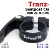 TranZ-X : ที่รัดหลักอานแบบปลดเร็ว