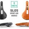 VINCITA : SL05 Leather Saddle : SPORT AIR