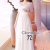 Cliona Made, N2 Diamond Pearl Luxury Dress