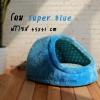 (พร้อมส่ง) ที่นอนสุนัข โดม Super Blue