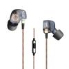 ขาย หูฟัง KZ ATE หูฟัง[มีไมค์ ดำ] อินเอียร์ In-ear รุ่นใหม่ Super Bass ตัดเสียงรบกวนได้ดี คุณภาพระดับ military-grade รองรับ Mobile Phone iOS Android