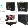 VINCITA : B132 กระเป๋าจักรยานพับ แบบมีล้อ (ขนาดใส่รถพร้อมกล่อง)
