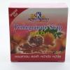 สบู่ทับทิม Pomegranate Soap น้ำหนัก 60 g.(12 ก้อน)