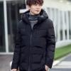 พร้อมส่ง เสื้อกันหนาว ผู้ชายย สีดำ มีฮู้ด ซิปหน้าเต็มตัว มีซับใน ใส่กันลม ใส่กันหนาว ใส่ไปเที่ยวต่างประเทศ อุ่นแน่นอน