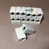 ตัวต่อสายแลน(ต่อกลางทาง) 1ออก1 RJ45 เมีย 1:1 LAN RJ45 Female Join modular jack