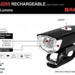 RAYPAL : RPL2255 ไฟหน้าจักรยาน