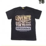 เสื้อยืดชาย Lovebite Size L - Tokyo Hiroshima
