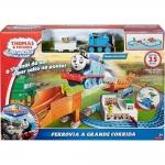 รถไฟ Thomas's racing bridge jump fisher price ของแทั ส่งฟรี