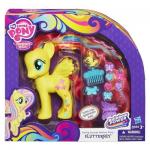 พร้อมส่งส่งฟรี My Little Pony Cutie Mark Magic Styling Strands Fashion Pony Fluttershy Figure ของห้าง ของแท้