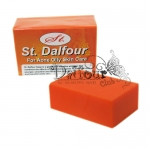 ST.Dalfour Beauty Whitening Soap ขนาด 200 g สบู่คูเวตมะละกอ น้ำผึ้ง ผิวขาวใสสุขภาพดี