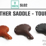 VINCITA : SL02 Leather Saddle : TOURING
