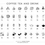 Coffee point stamp - ตราปั๊มไม้สะสมแต้ม 1 ชิ้น