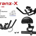 TRANZ-X : JD-808 ไตรบาร์ สำหรับแฮนด์ OverSize
