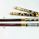 ดินสอเขียนคิ้ว Sivanna ลายเสือ ด้ามแปรงลายเสือสีทอง