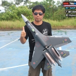 SU-35 Fighter jet 735mm Kit Brushless Motor